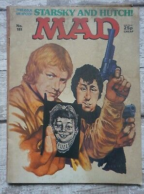 Mad Magazine No.181  Starsky and Hutch  Cover Harsky & Stutch Parody