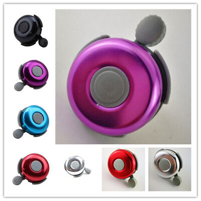 Aluminum Bicycle Cycling Ring Bell Alarm Bike Loud Sound Handlebar Horn Supply H