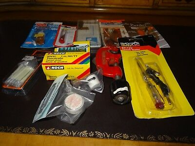 A Collection of Modelling Tools and Accessories