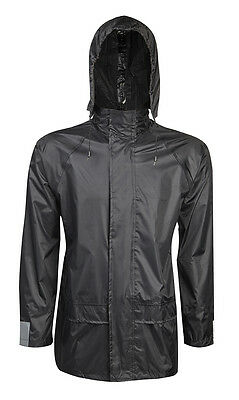 f747c912f1 Mens Waterproof Shower Proof Hooded Kag Coat Jacket S M L Xl Xxl Baum  Country