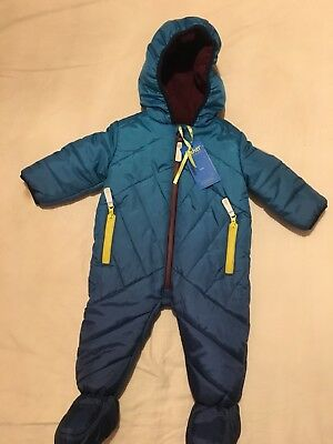8d13fc9e8 TED BAKER BABY Boys Spring /Summer Blue Hooded Jacket Age 9-12 ...