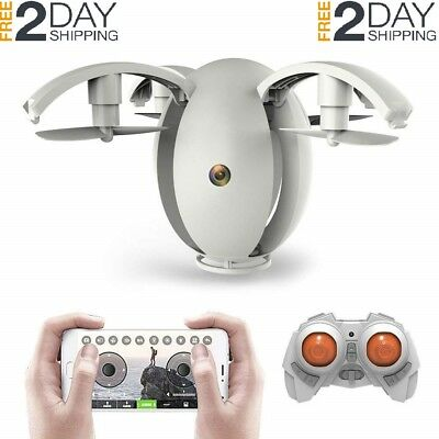 K130 FPV WiFi Drone HD Camera Flying Egg Drones RC Helicopter 2.4Ghz 6-Axis Gyro