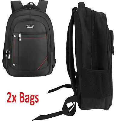 2x29 Litre Wall Street Business Travel Hand Luggage Laptop Backpack Rucksack Bag