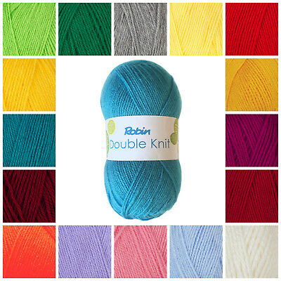 Robin supersoft double knitting yarn 100 gram ball 50 lovely colours
