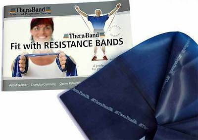 Thera-Band Resistance Band Exercise Pack 1.5m + TheraBand Colour Exercise Manual