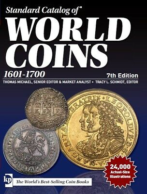 2018 !!! Standard Catalog of World Coins 1601 - 1700 - 7th edition PDF file