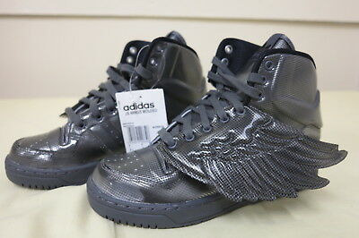 ADIDAS ORIGINALS JEREMY Scott Wings Flight Molded Grey 5Uk
