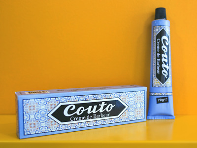 COUTO - Shaving Cream 70G - Made in Portugal