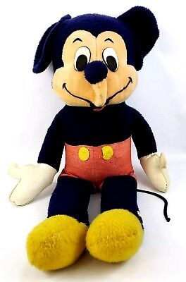 "Vintage & Very Rare - Giant 36"" MICKEY MOUSE Plush Stuffed Doll Walt Disney"