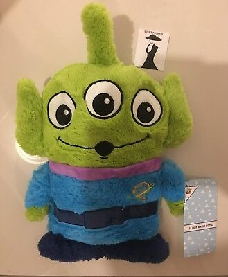 Primark DISNEY TOY STORY SPACE ALIEN Hot Water Bottle and Cover Boys Girls Gift