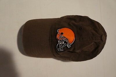 cefd9cdc4 NFL CLEVELAND BROWNS Brown One Size Fits All Slouch Fitted Hat By ...