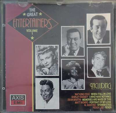 The Great Entertainers Volume 1 CD