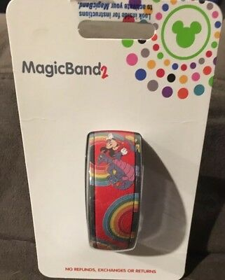 New Disney Mickey and Figment YesterEars MagicBand 2 Magic Band LE SOLD OUT