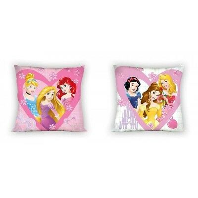 NEW PRINCESS Ariel Cinderella cushion cover 40x40cm 100% COTTON
