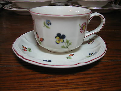 Villeroy & Boch Petite Fleur Cup & saucer set (s) MANY more this pattern !