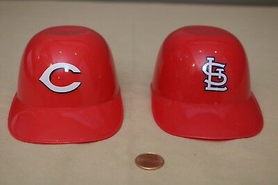 BASEBALL ICE CREAM SUNDAE HELMET - Cincinnati Reds St. Louis Cardinals