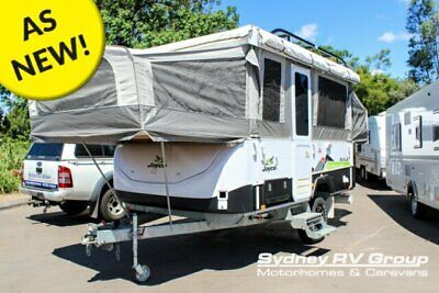2014 Jayco Eagle Outback White Camper Trailer