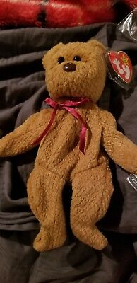 28114ad5da9 HOLY GRAIL! TY Beanie Babies Curly The Bear With Several Tag Errors ...
