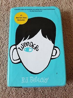 Wonder by R. J. Palacio 1st Edition (2012, Hardcover Dust Jacket)