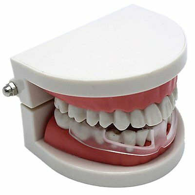 Silicone Dental Mouth Guard Bruxism Sleep Aid Night Teeth TMJ Tooth Grinding LU