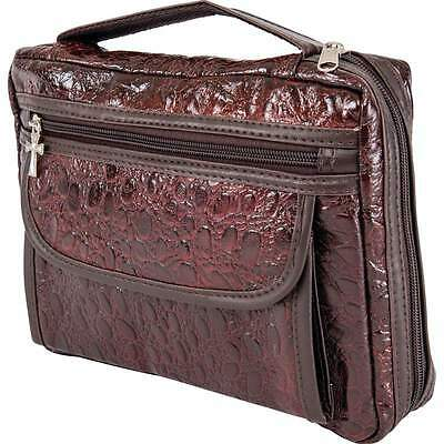 Leather Bible Scripture Book Storage Case Sleeve Cover Accessories Organizer