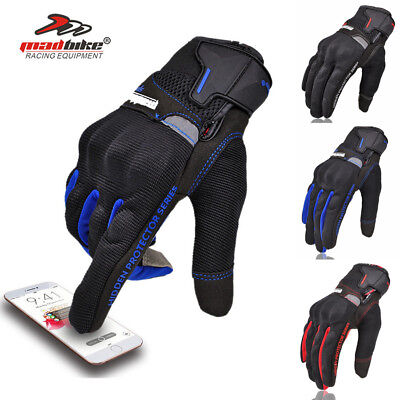Motorcycle Rider Protective Gloves Touch Screen Winter Warm Windproof