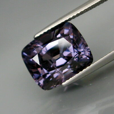 9.06Ct.Attractive&Full Fire! Natural HUGE Intense Purple Spinel MaeSai,Thailand