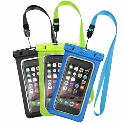 MPOW Floating Waterproof Underwater Phone Pouch Bag Case Cover for iPhone/Galaxy