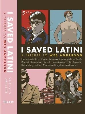 I Saved Latin! A Tribute To Wes Anderson - Cassette Tape - Soundtrack - NEW