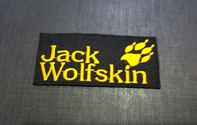 performance sportswear get new official shop EMBROIDERED SEW IRON Patch LOGO EMBLEM JACK WOLFSKIN SPORTS ...
