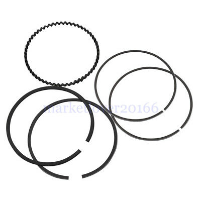 10pcs 3.5'' Chrome steel Hastings Std. Repl Moly Piston Rings  Harley Sportster