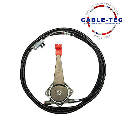 """8ft 6"""" universal hand throttle cable assy"""