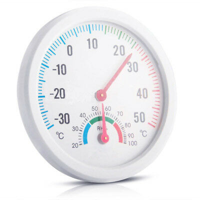 Stainless Steel Thermometer Hygrometer For Sauna Room Temperature/Humidity Meter