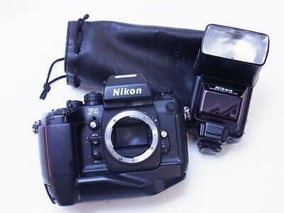 P0136 | Nikon F4S F4 + MF-24 data back + Speedlight SB-24 - ungeprüft / untested
