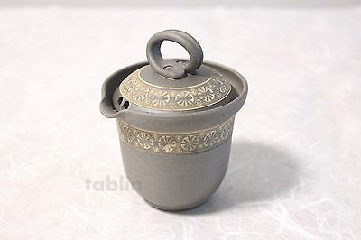 Tokoname yaki ware Japanese tea pot Yutaka cover ceramic tea strainer 160ml