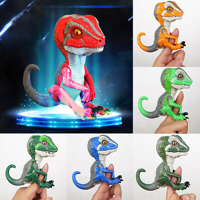 Non-toxic Raptor Collectible Fingerlings Tracker Untamed Finger Dinosaur Toy UK