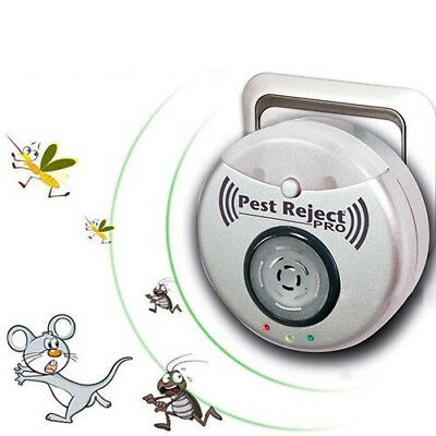 Ultrasonic Mice Repeller Insect Killer  Pest Reject Anti Mosquito--2019 hot deal