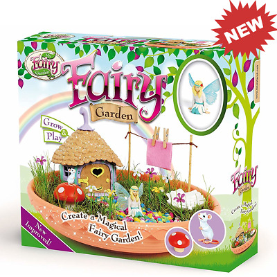 My Fairy Garden Grow Your Own Miniature Magical Fairy Garden Kit Toy Ideas Bday