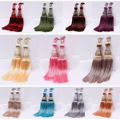 USA Curtain Tiebacks Tassel Holdbacks Ball Tie Backs Binding Rope Home Decors