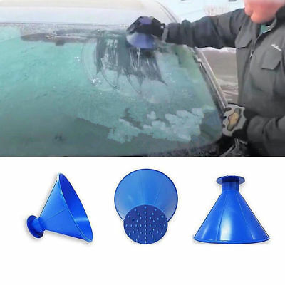 Miracle Scraper Car Windshield Snow Wiper Ice Snow Remover A Funnel Shape Tools