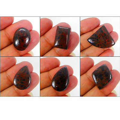 Natural Spider Web Jasper Rectangle,Pear, Square,Fancy Cab. Loose Gemstone