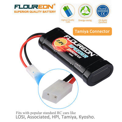 FLOUREON 7.2V Ni-MH Batterie Akku 3500mAh Female-tamiya Für RC Auto Car DE Stock