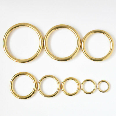 Heavy Duty Cast Solid Brass Ring 8 sizes
