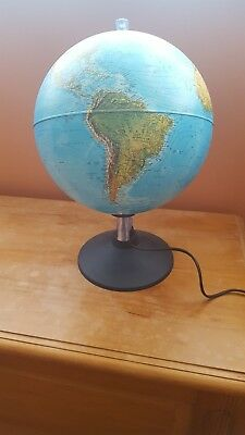 World light up globe