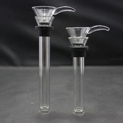 High Quality 2.0 inches Glass Downstem Slider Set With Gaskets with O-Rings.