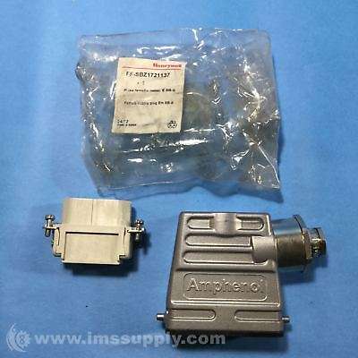 Honeywell FF-SBZ1721137 Female Supply Plug, Metal Plug Emitter FNIP
