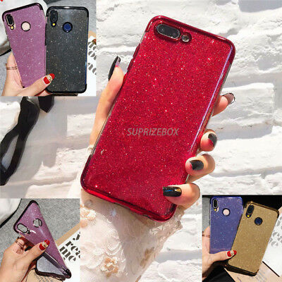 Case For Huawei P20 Pro Lite Mate 20 Pro Y7 2018 P Smart Silicone Glitter Cover