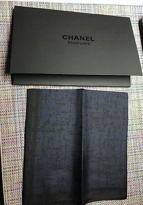 Chanel VIP Gift scarf handkerchief bleu de chanel with miniature1,5 ml very RARE