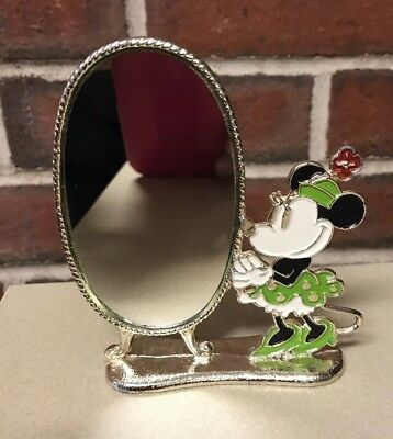 "WALT DISNEY PRODUCTIONs Minnie Mouse Mirror  4.25"" Tall"