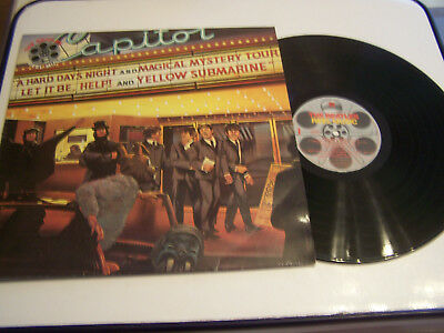 Lp 33 Tours Vinyle ,The Beatles ,Reel Music Avec Programme Souvenir . Vg / Vg +